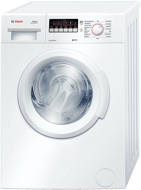 Bosch WAB16262TR 6 Kg.800 Devir A++Enerji Çamaşır Makinesi