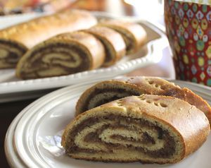 This recipe for nut roll, known as potica, povitica and orehnjaca, is a sweet yeast bread with a walnut filling.