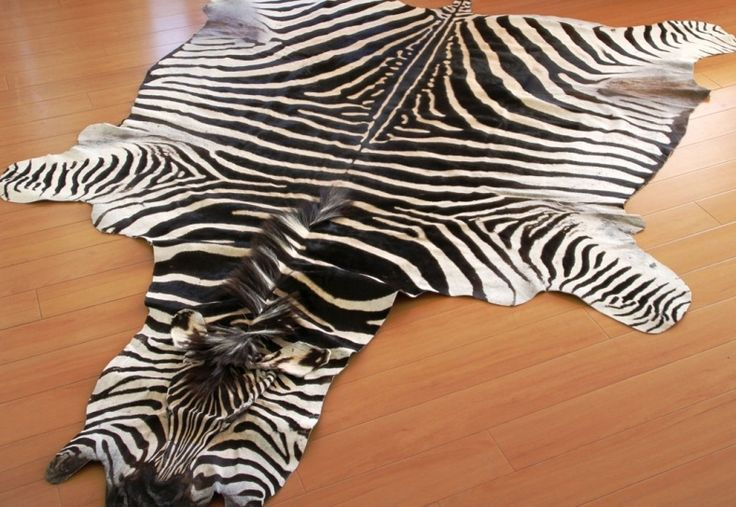 Real Zebra Rugs For Sale