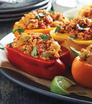 Paleo-Diet-Mexican-Stuffed-Peppers-image-(c)-Waterbury-Publications