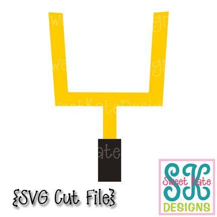 Goal Post Svg Jpg Png Scrapbook Die Cut Heat Transfer