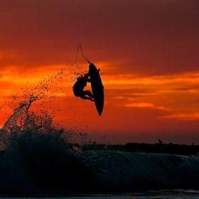 Sunset Air By Chris Burkard