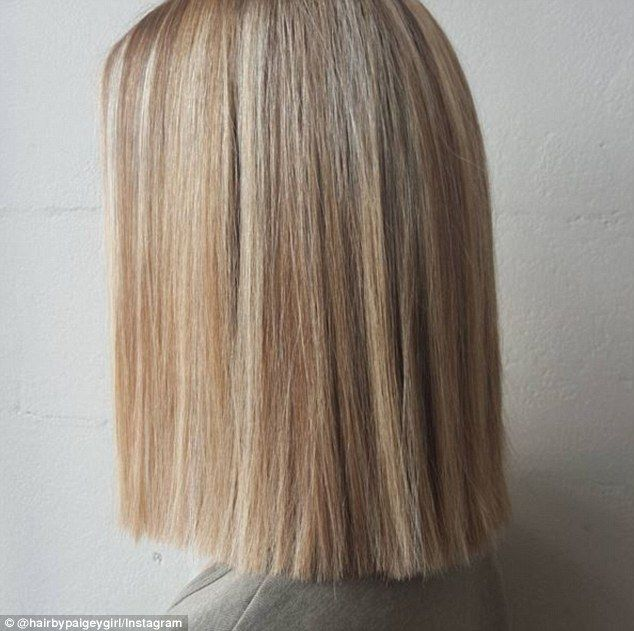 Straight: Celebrity hairdressers say that women should not be tempted to try doing the hai...
