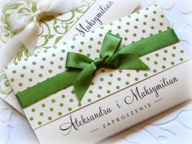 zaproszenia ślubne na ślub PERŁOWE wzory