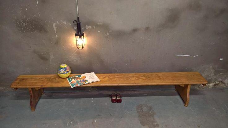 vintage gymbank als stoer meubel in je kinderkamer!