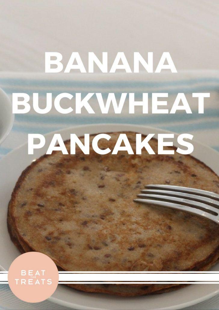 Banana Buckwheat Pancakes | Breakfast Recipe | Allergies Friendly Recipe | Diary Free | Gluten Free | Refined Sugar Free | Soy Free
