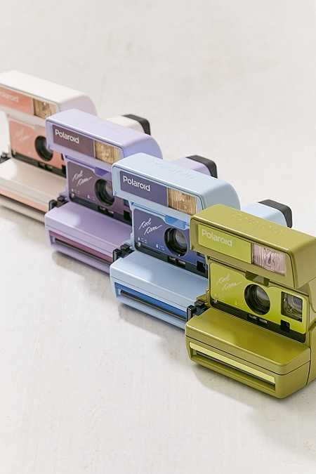 Impossible X UO Peach Polaroid 600 Cool Cam Instant Camera