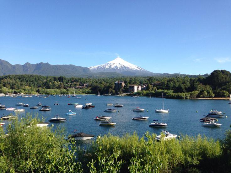 Volcan Villarrica à Pucón au Chili