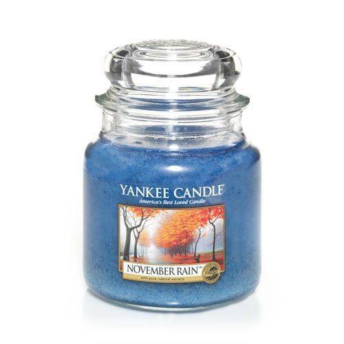 Yankee Candle November Rain 14.5oz Medium Jar