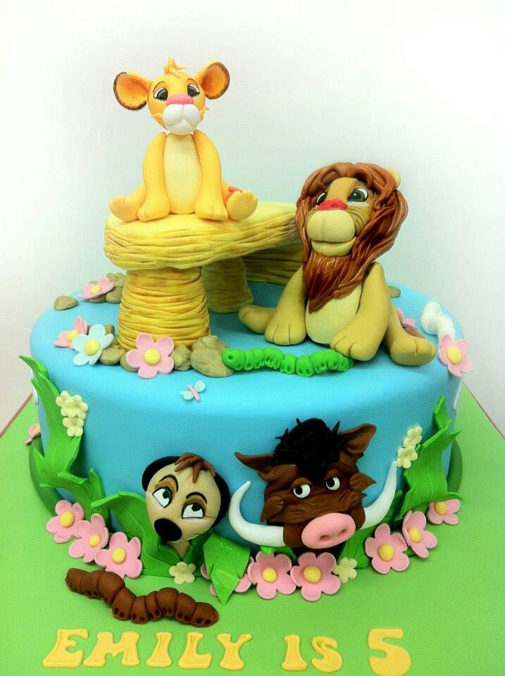 17 Best Images About Lion King Cakes On Pinterest