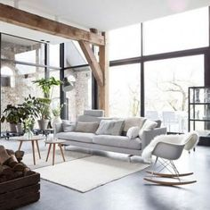 77 Gorgeous Examples of Scandinavian Interior Design Light-and-serene-Scandinavian-home
