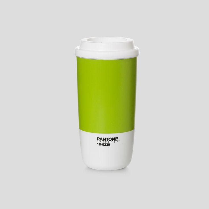 PANTONE Universe, Cup to go, Macaw Green, Design by Room Copenhagen