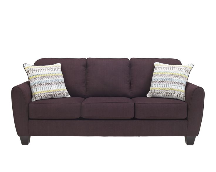 9620138 Benchcraft By Ashley Ean Eggplant Sofa