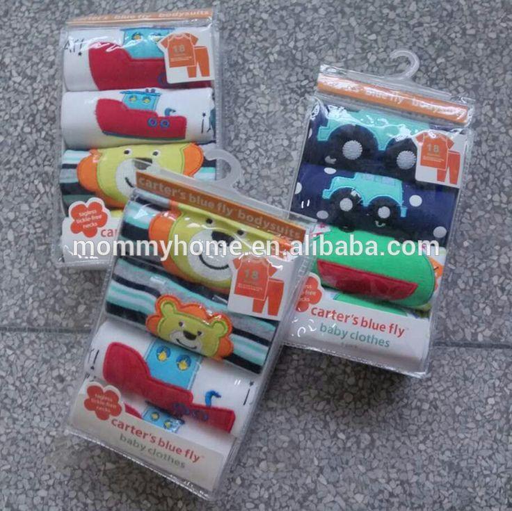 Comercio al por mayor camisa de manga corta y pantalones largos bluefly carters del bebé sets/Mommyhome carters ropa de bluefly M6031505