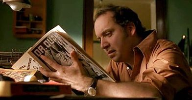 // Day 70 // American Splendor - 2003 - Harvey Pekar is file clerk at the local VA hospital. His interactions with his co-workers offer some relief from the monotony and their discussions encompass everything from music to the decline of American culture to new flavors of jellybeans and life itself. At home Harvey fills his days with reading writing and listening to jazz. His apartment is filled with thousands of books and LPs and he regularly scours Cleveland's thrift stores and garage…