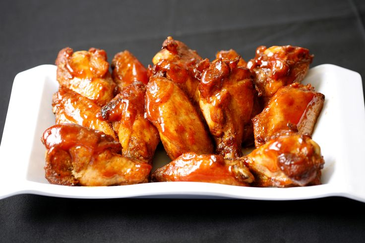 Check out the many flavours of chicken wings