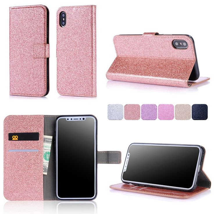 Misolocat for Apple iPhone X Flip Case Capa for iPhone 5S SE 6 6S 7 Plus Stand Cover Bling Wallet Funda PU Leather Coque-in Flip Cases from Cellphones & Telecommunications on Aliexpress.com | Alibaba Group