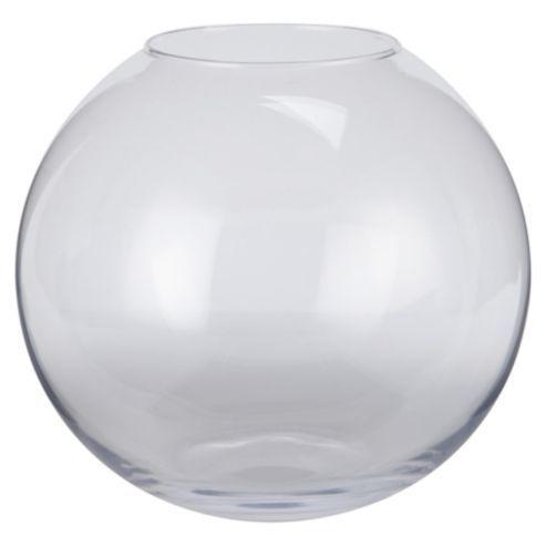 Buy Tesco Glass Bowl Vase from our Vases & Bowls range - Tesco.com