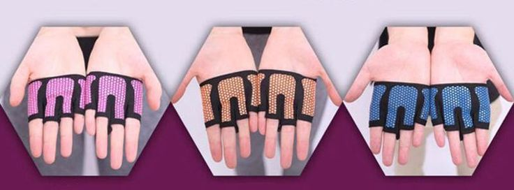 Unisex Cross-fit Workout Gloves