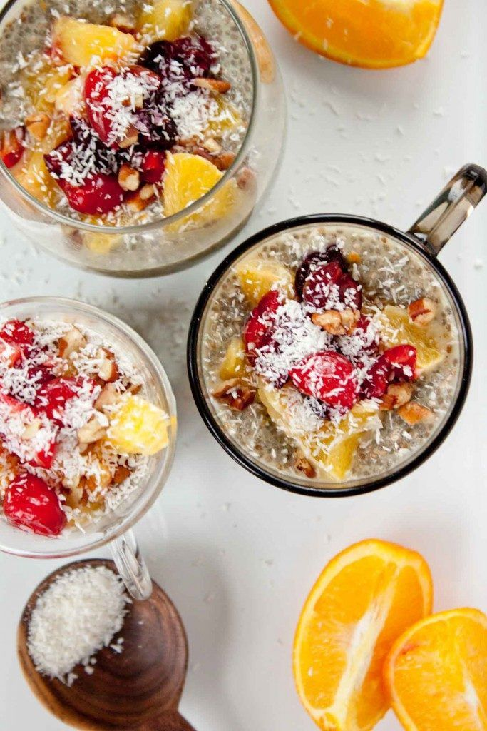 1. Orange Creamsicle Chia Seed Pudding #healthy #chiaseed #recipes http://greatist.com/eat/chia-seed-pudding-recipes