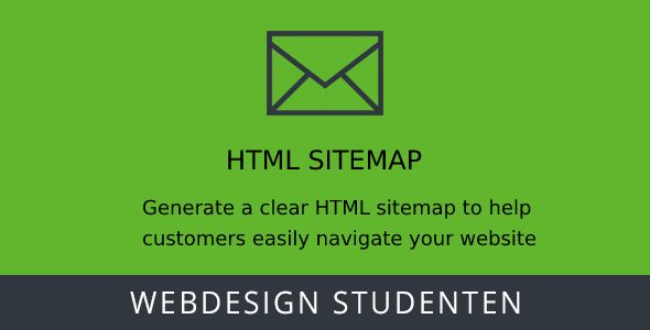 HTML Sitemap Magento 2 extension