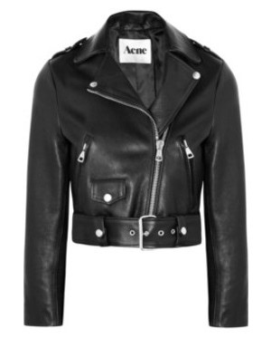 Acne.Feyt Features, Black Style, Features Closets, Copy Cat, Cat Outfit, Crop Leather, Acne Mapes, Christmas Lists, Leather Biker Jackets