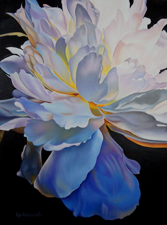 Intuition, Irina Gretchanaia. 36 x 48 Oil on cavas. Ready to hang. www.AdelmanFineArt.com