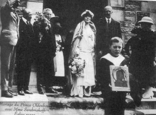 Peter Alexandrovich duke of Oldenburg + Olga Vladimirovna Ratkova-Rognova
