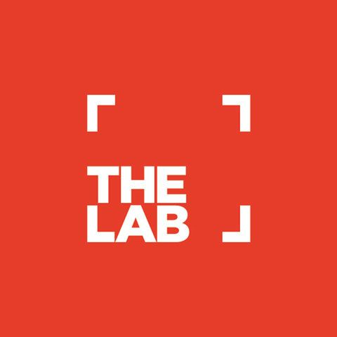 The Lab. Clever brand mark.