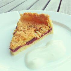 Den populære hindbærtærte fra Instagram