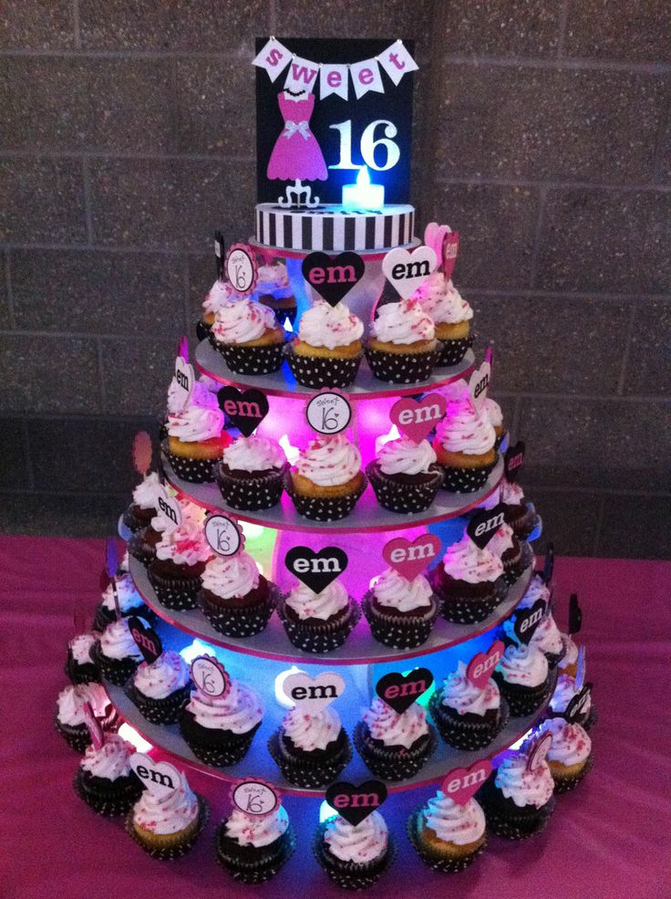 76 best Round Cupcake Towers Displays images on Pinterest Cupcake