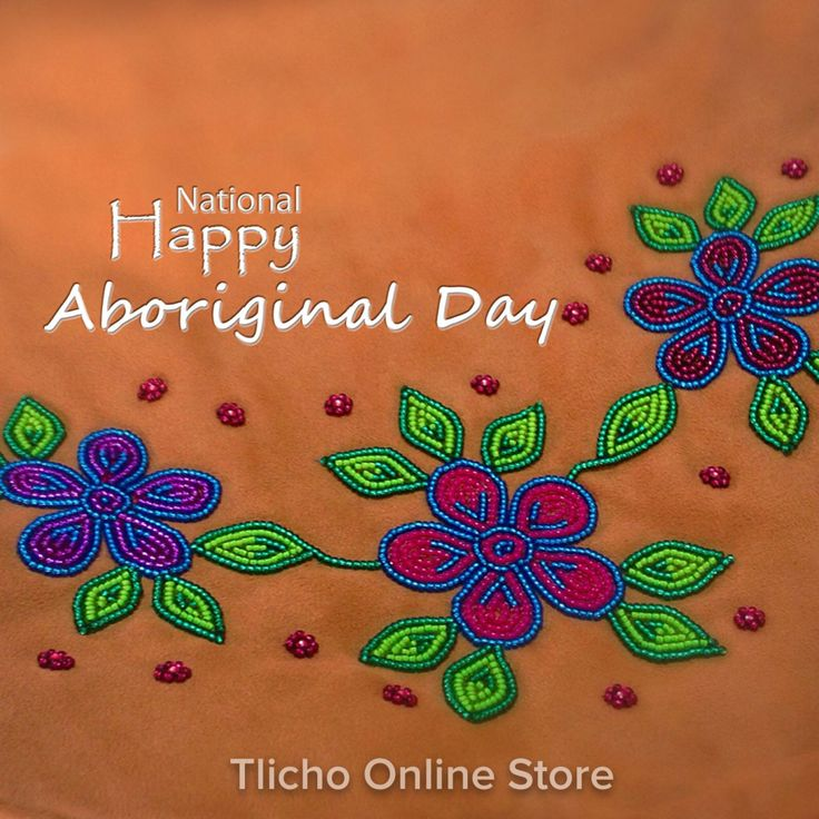 Happy National ‪#‎Aboriginal‬ Day! Beautiful beadwork from ‪#‎Whati‬, NT! ‪#‎Tlicho‬