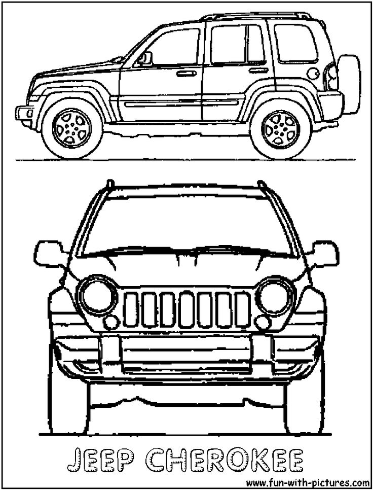 26 best images about jeep coloring on pinterest