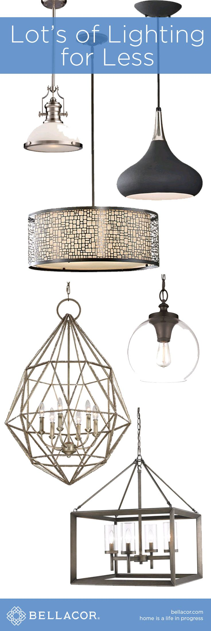 Shop Lot's of Lighting for Less then you would expect at http://www.bellacor.com/