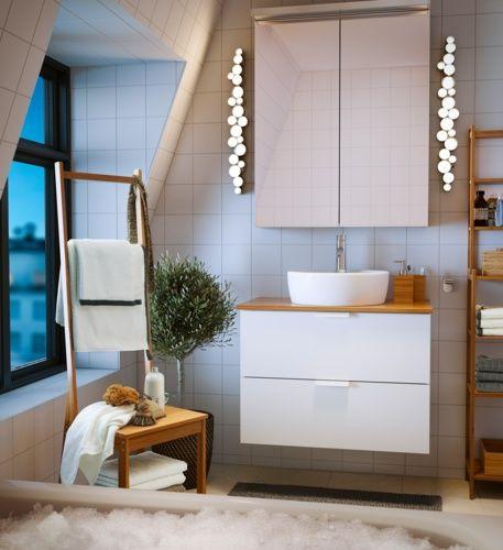 Les 25 meilleures idées de la catégorie Salle de bain en bambou ...