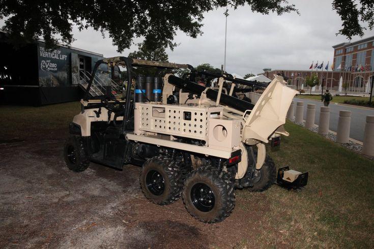 quad 6x6 on sistema semi automatico per mortai 120mm