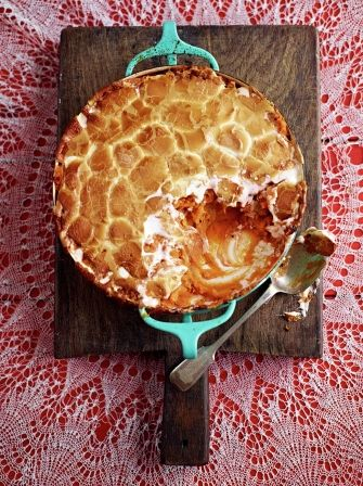 Sweet potato with marshmallow