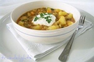 Chilli Potato Stew/Gulas picant de cartofi