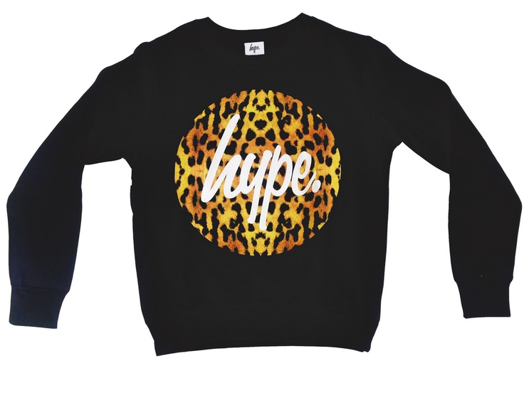 HYPE.CHEETAH CREW    http://store.justhype.co.uk/product/hype-cheetah-sweat
