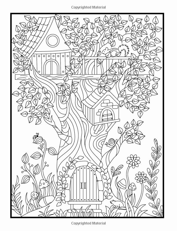 Forest Colouring Pages For Adults Amazing Design