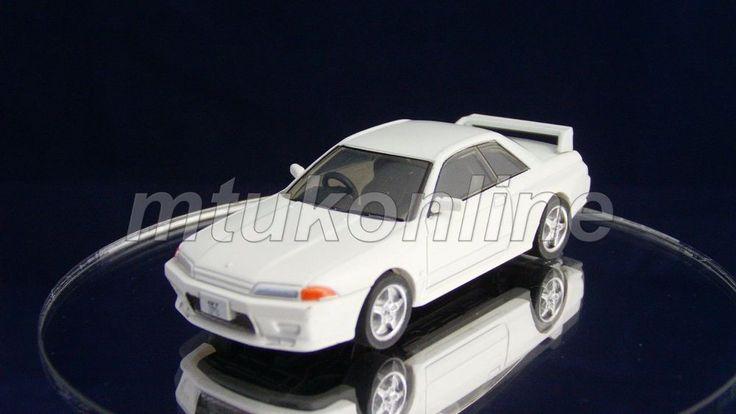 TAKARA SILHOUETTE 4 NISSAN SKYLINE GT-R 1989   R32   1/64   SUPER WHITE