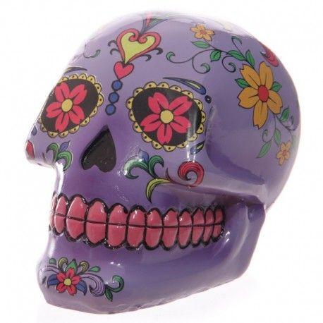 Tirelire Crâne Jour Des Morts Méxicain