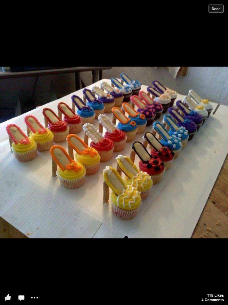 High Heel Cupcakes! Oooh La La   Recipe   Girls, Cakes and ...