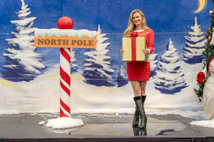 """Check out photos from the Hallmark Channel original movie, """"Miss Christmas"""" starring Brooke D'Orsay and Marc Blucas."""