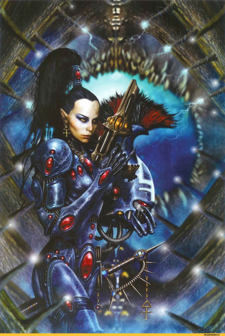 warhammer 40000,фэндомы,eldar,Dire Avengers