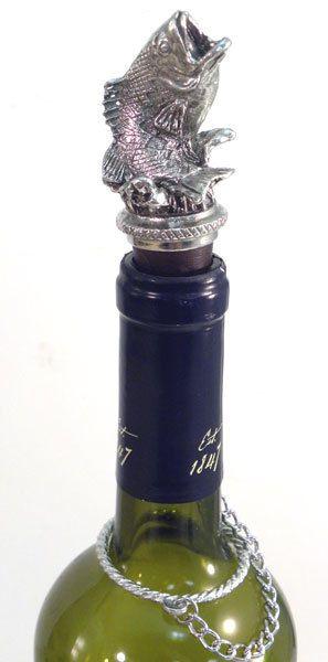 Largemouth Bass Wine Bottle Stopper