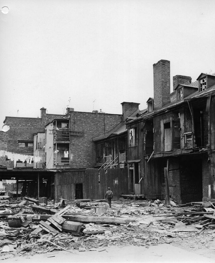 Montréal sens dessus dessous : les expropriations des années 1950 et 1960   Mémoires des Montréalais