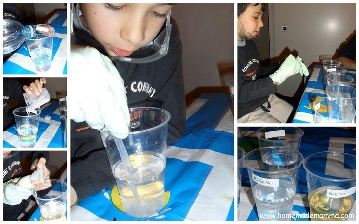 esperimenti scientifici bambini ghiaccio