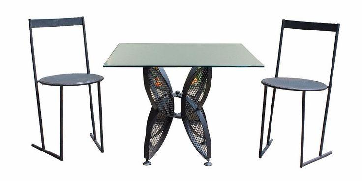 tavolo ferro battuto-stile-vintage