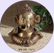 baby Ganesh to remind me of my Indian friends and for good luck :)